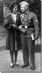 Hochzeit 1943 mit Etien