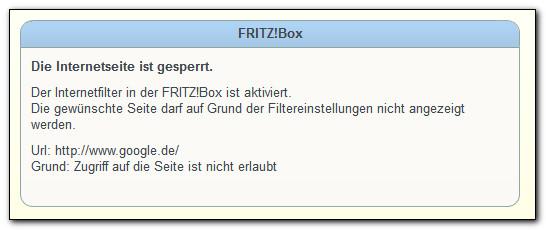 zugang auf fritzbox